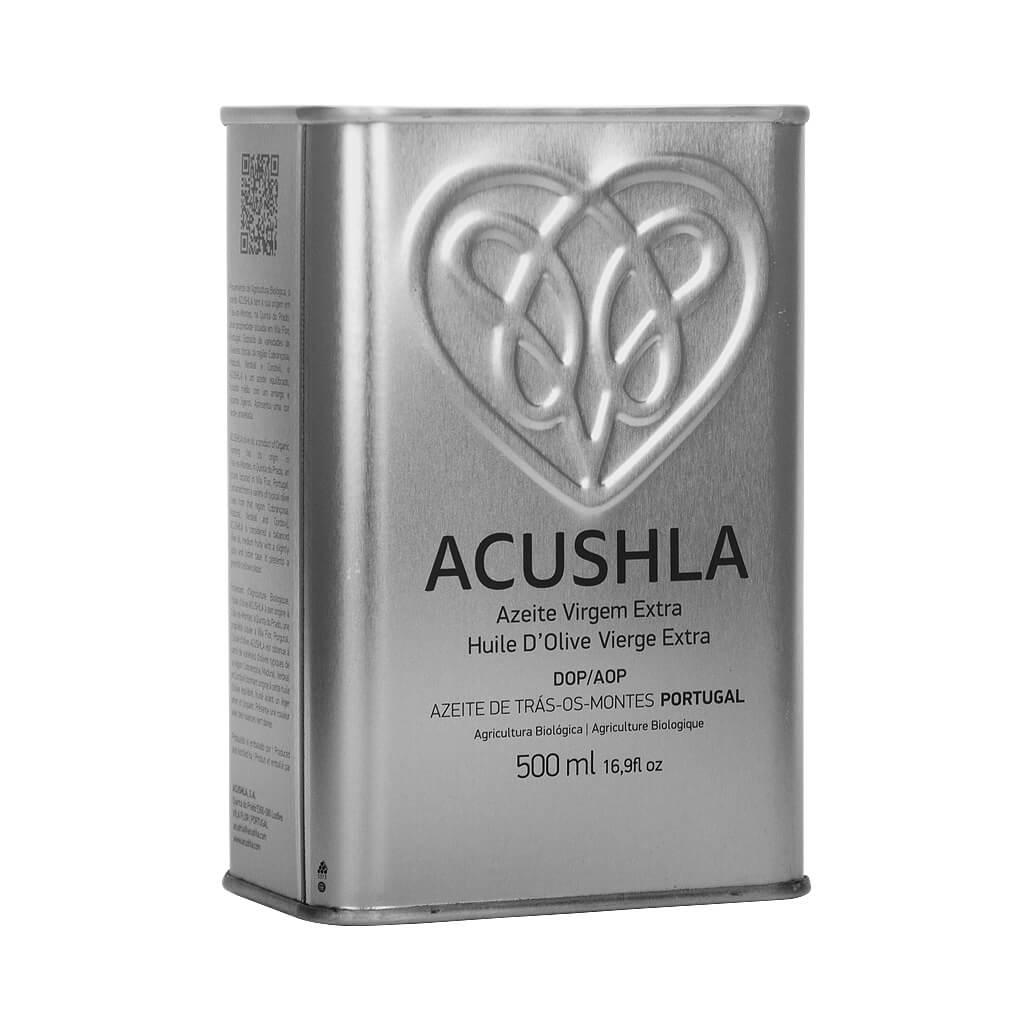 Azeite Biológico Virgem Extra Acushla – Lata 500ml