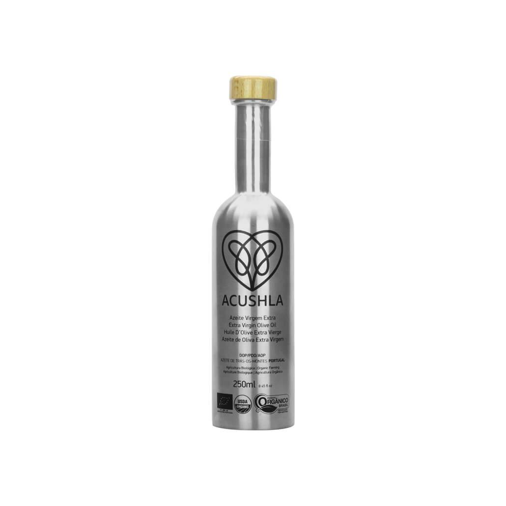 Azeite Virgem Extra Biológico Garrafa Aço Inox 250 ml