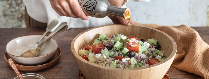 Salada de Bulgur e Feta