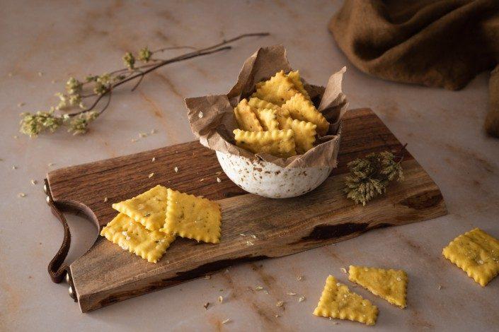 crackers de oregaos